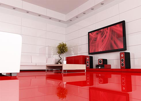 Murray Brothers Electric Home Theater installation