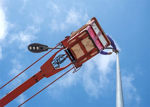 Murray Brothers Electric aerial services